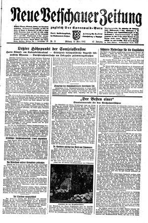 Neue Vetschauer Zeitung vom 31.03.1943