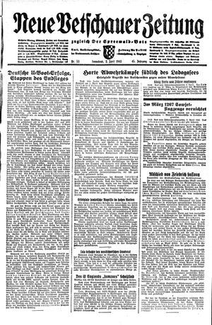 Neue Vetschauer Zeitung vom 03.04.1943