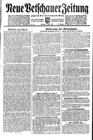 Neue Vetschauer Zeitung vom 07.04.1943