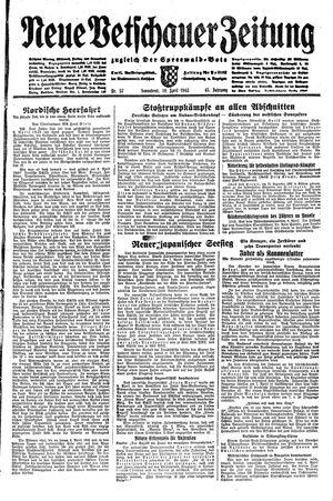 Neue Vetschauer Zeitung vom 10.04.1943
