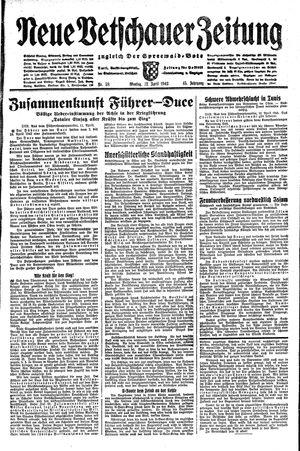 Neue Vetschauer Zeitung vom 12.04.1943