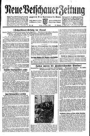 Neue Vetschauer Zeitung vom 16.04.1943