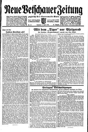 Neue Vetschauer Zeitung vom 17.04.1943