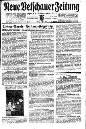 Neue Vetschauer Zeitung vom 03.05.1943