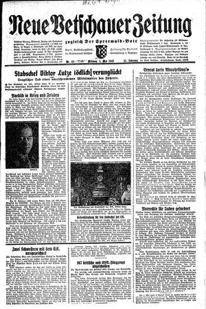 Neue Vetschauer Zeitung vom 05.05.1943