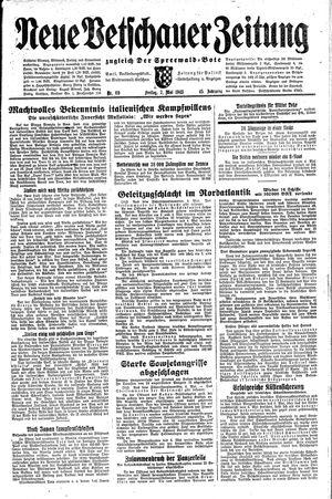 Neue Vetschauer Zeitung vom 07.05.1943