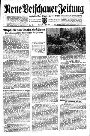 Neue Vetschauer Zeitung vom 08.05.1943