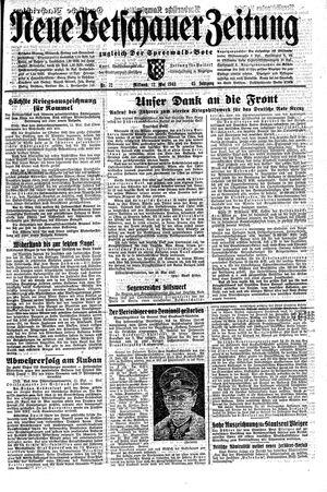Neue Vetschauer Zeitung vom 12.05.1943