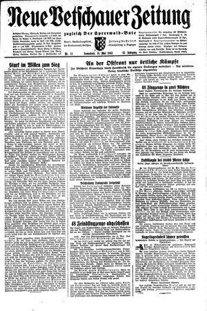 Neue Vetschauer Zeitung vom 15.05.1943