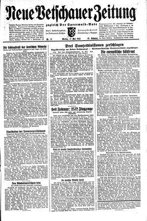 Neue Vetschauer Zeitung vom 17.05.1943