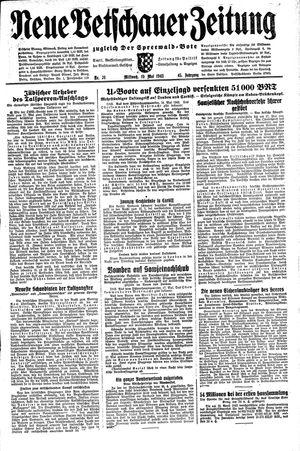 Neue Vetschauer Zeitung vom 19.05.1943