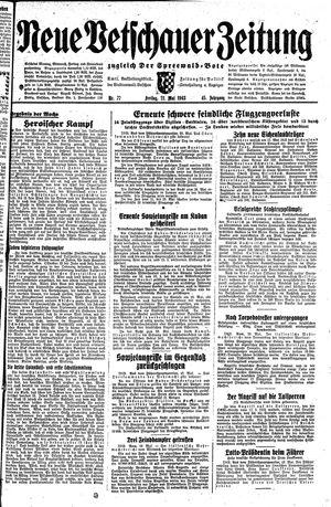 Neue Vetschauer Zeitung vom 21.05.1943