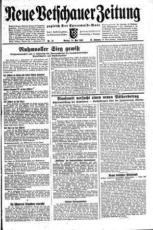 Neue Vetschauer Zeitung vom 24.05.1943
