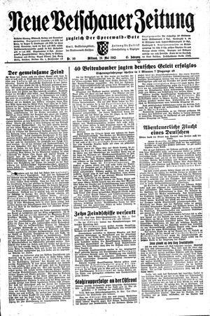 Neue Vetschauer Zeitung vom 26.05.1943