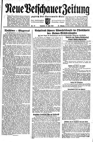 Neue Vetschauer Zeitung vom 29.05.1943