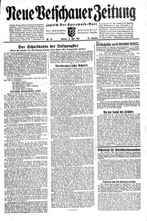 Neue Vetschauer Zeitung vom 31.05.1943