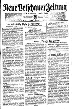 Neue Vetschauer Zeitung vom 02.06.1943