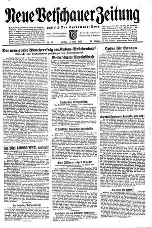 Neue Vetschauer Zeitung vom 04.06.1943