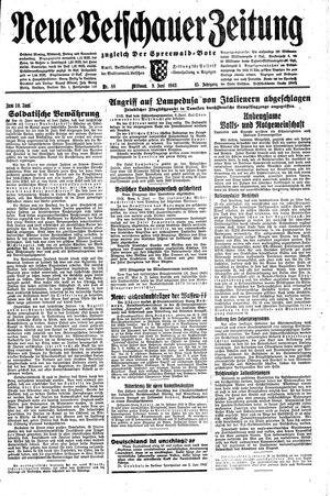 Neue Vetschauer Zeitung vom 09.06.1943