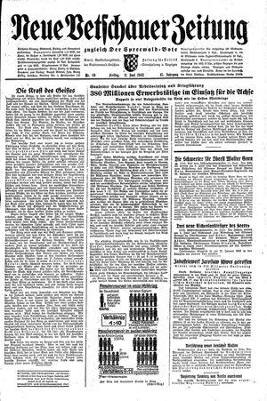Neue Vetschauer Zeitung vom 11.06.1943