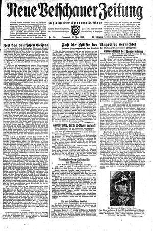 Neue Vetschauer Zeitung vom 12.06.1943