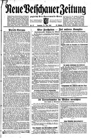 Neue Vetschauer Zeitung vom 26.06.1943