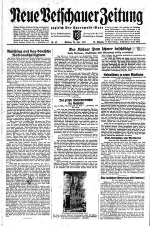 Neue Vetschauer Zeitung vom 30.06.1943