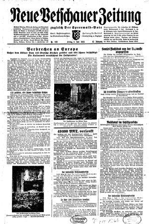 Neue Vetschauer Zeitung vom 02.07.1943