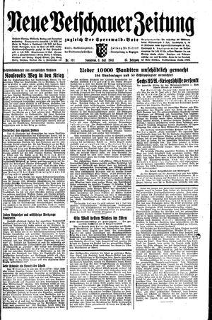Neue Vetschauer Zeitung vom 03.07.1943