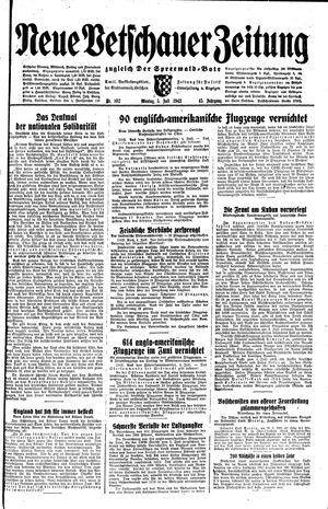 Neue Vetschauer Zeitung vom 05.07.1943
