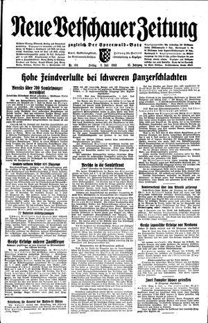Neue Vetschauer Zeitung vom 09.07.1943