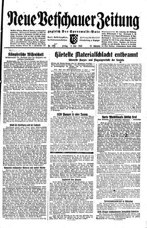Neue Vetschauer Zeitung vom 10.07.1943