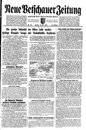 Neue Vetschauer Zeitung vom 12.07.1943