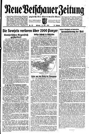 Neue Vetschauer Zeitung vom 14.07.1943
