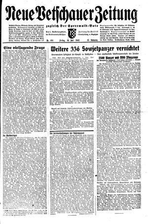 Neue Vetschauer Zeitung vom 16.07.1943