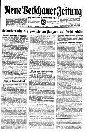 Neue Vetschauer Zeitung vom 17.07.1943
