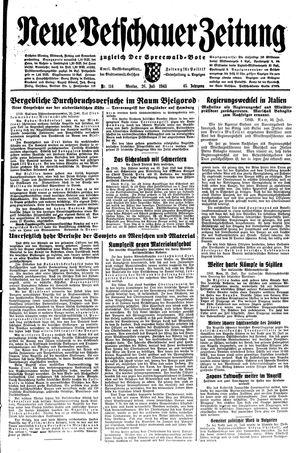 Neue Vetschauer Zeitung vom 26.07.1943