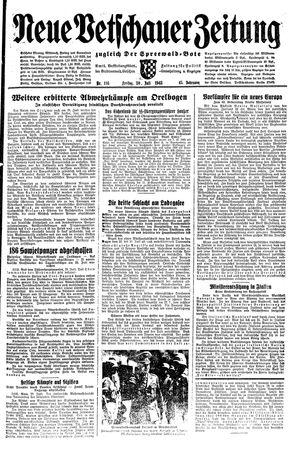 Neue Vetschauer Zeitung vom 30.07.1943