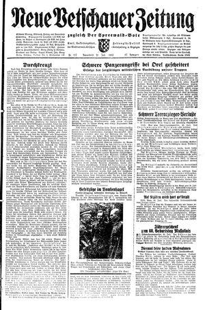 Neue Vetschauer Zeitung vom 31.07.1943