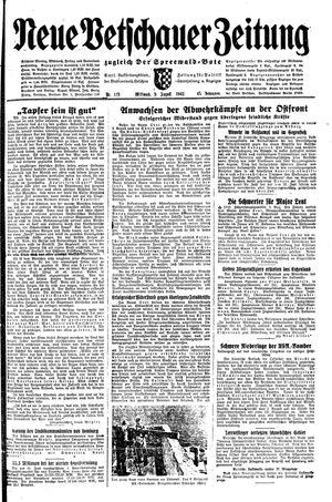Neue Vetschauer Zeitung vom 04.08.1943