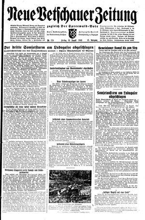 Neue Vetschauer Zeitung vom 13.08.1943