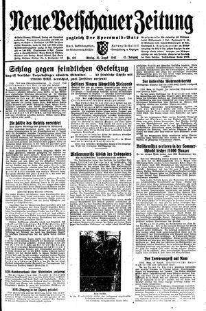 Neue Vetschauer Zeitung vom 16.08.1943