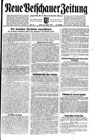 Neue Vetschauer Zeitung vom 20.08.1943