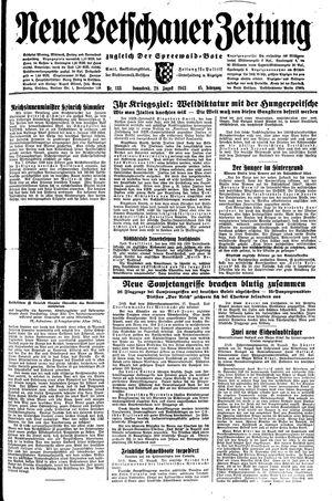 Neue Vetschauer Zeitung vom 28.08.1943