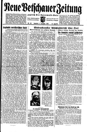 Neue Vetschauer Zeitung vom 04.09.1943