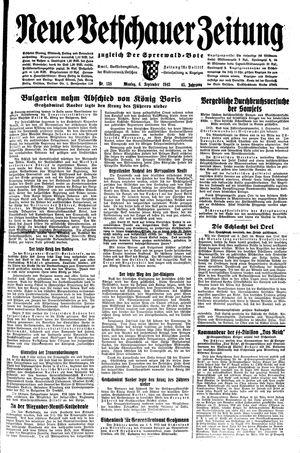 Neue Vetschauer Zeitung vom 06.09.1943