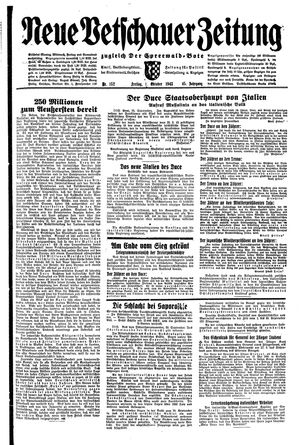 Neue Vetschauer Zeitung vom 01.10.1943