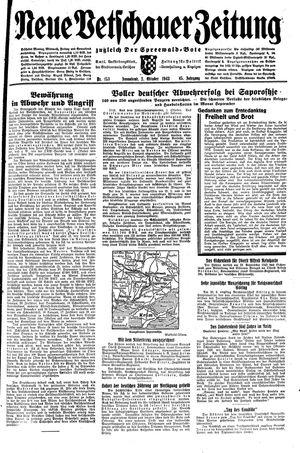 Neue Vetschauer Zeitung vom 02.10.1943