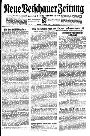 Neue Vetschauer Zeitung vom 06.10.1943