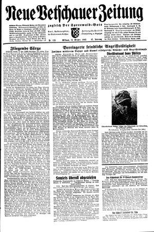 Neue Vetschauer Zeitung vom 13.10.1943